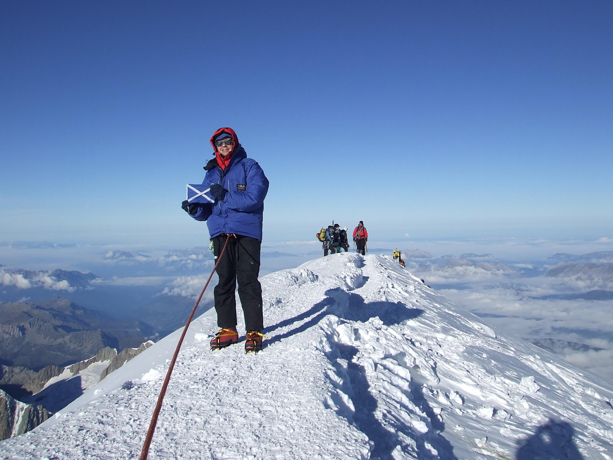 Mont Blanc » Bob Kerr – Prospective 7 Summitteer